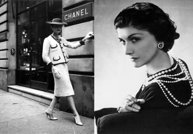 Imagem: a inspiradora Coco Chanel // Reprodução da internet.