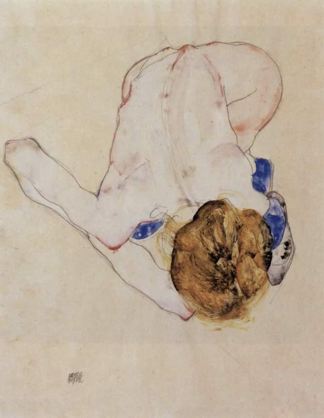 Imagem: reprodução da internet. Obra de arte de Egon Schiele