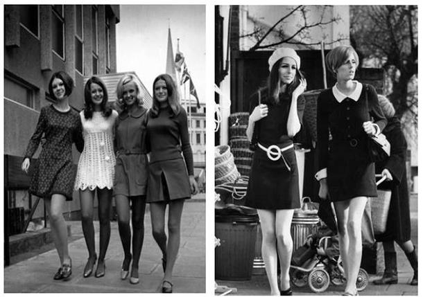 minisaia anos 60